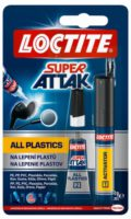 Loctite Super Attak Plastix 2g + 4ml