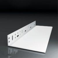LW-Z20 100/2m – PVC soklový montážní profil