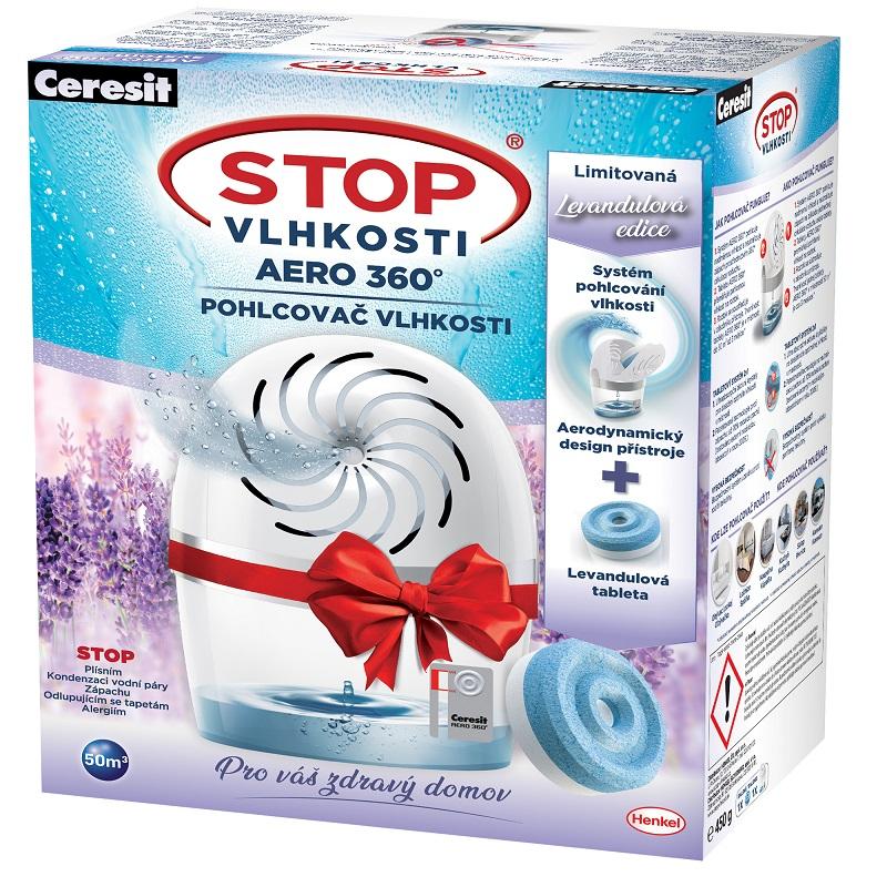 Ceresit Stop vlhkosti AERO prístroj Biely+ tableta