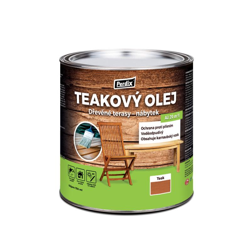 Perdix prírodný teakový olej – teak 750ml