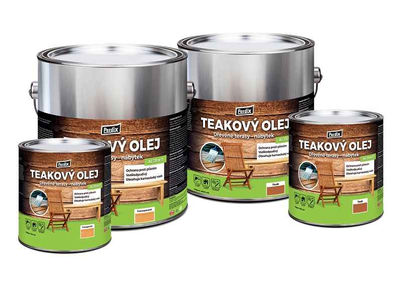 Perdix prírodný teakový olej 750ml