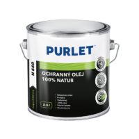 PURLET N660 Ochr. olej na dřevo 100% natur 2,5l